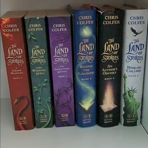 Books 1-6 Land of stories